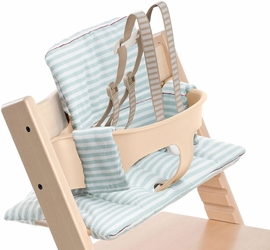 Stokke Tripp Trapp Cushion - Aqua Stripes