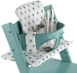 Stokke Tripp Trapp Cushion in Aqua Star