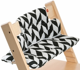 Stokke Tripp Trapp Cushion in Black Chevron