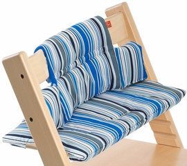 Stokke Tripp Trapp Cushion in Ocean Stripe