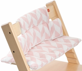 Stokke Tripp Trapp Cushion in Pink Chevron