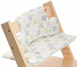 Stokke Tripp Trapp Cushion in Sweet Butterfly