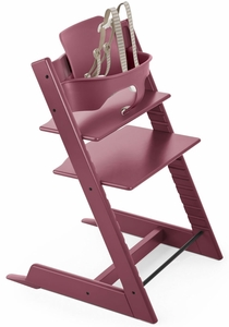 Stokke Tripp Trapp High Chair & Baby Set 2018 Heather Pink