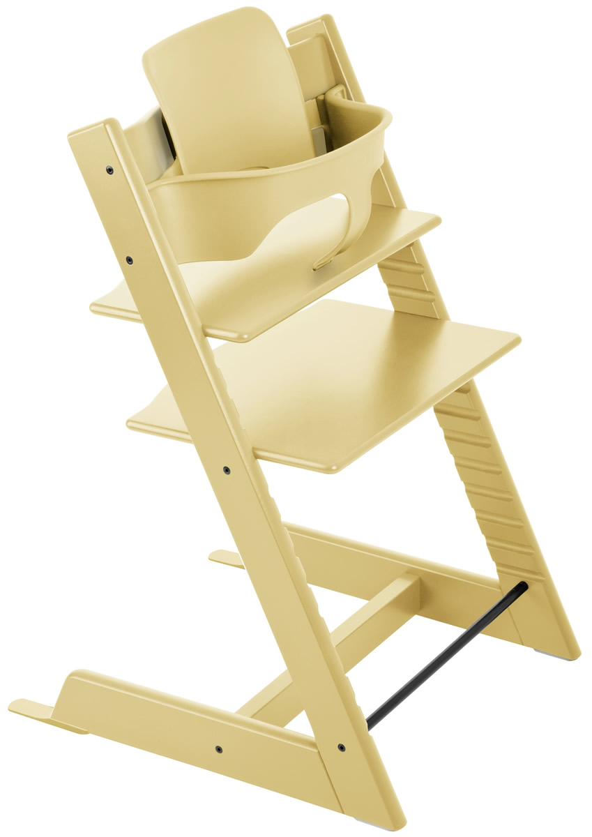Trip Trap Kinderstoel.Stokke Tripp Trapp High Chair Baby Set 2018 Wheat Yellow