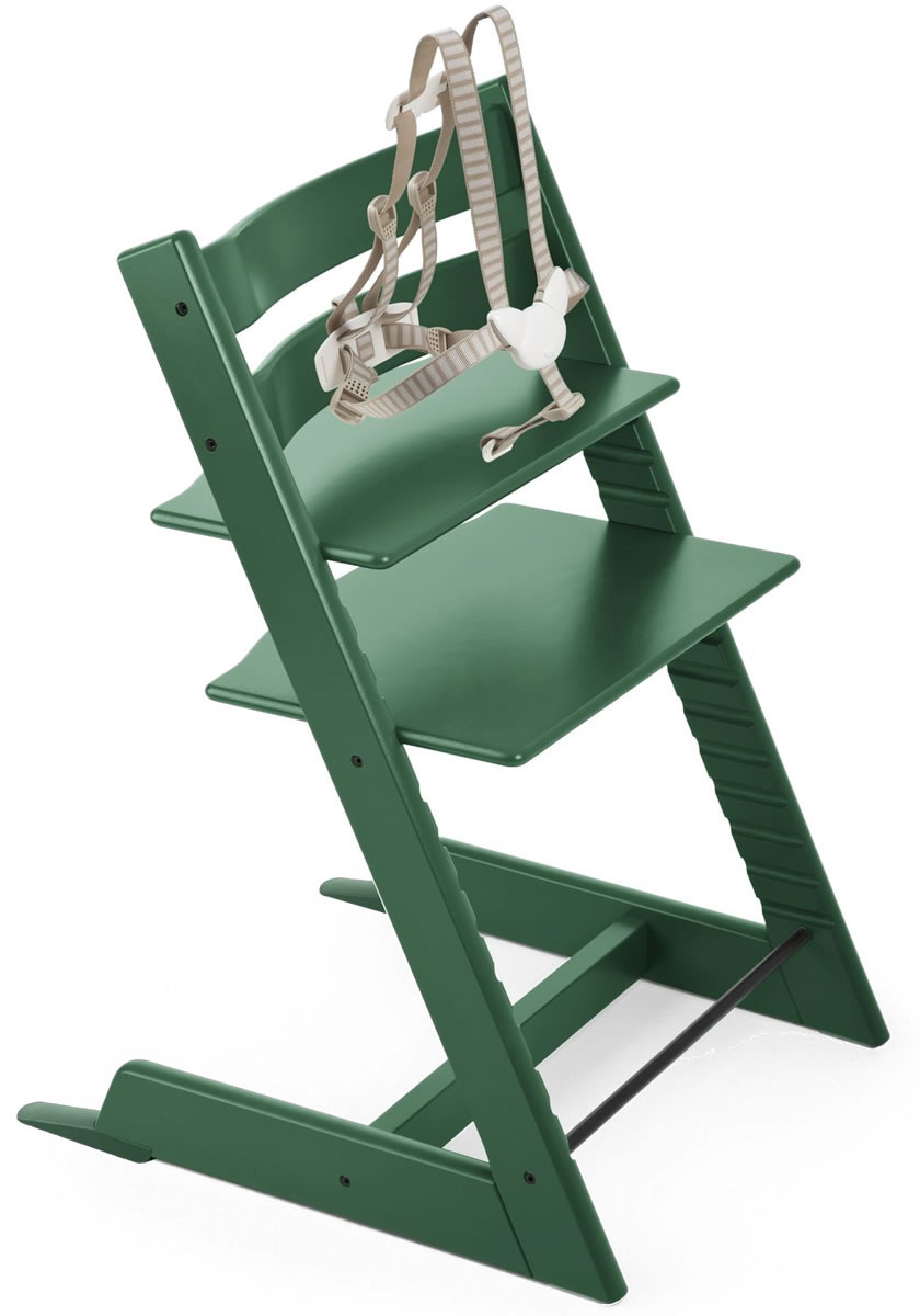 Awe Inspiring Stokke Tripp Trapp High Chair 2018 Forest Green Caraccident5 Cool Chair Designs And Ideas Caraccident5Info