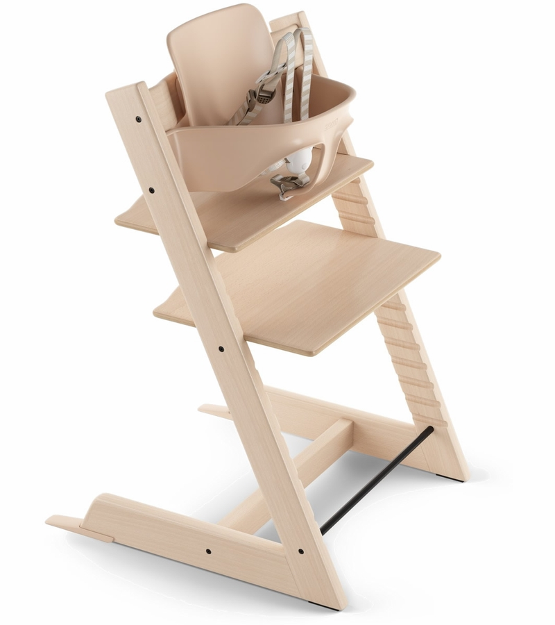 Stokke 2019 tripp trapp high chair natural for Seggiolone stokke tripp trapp usato