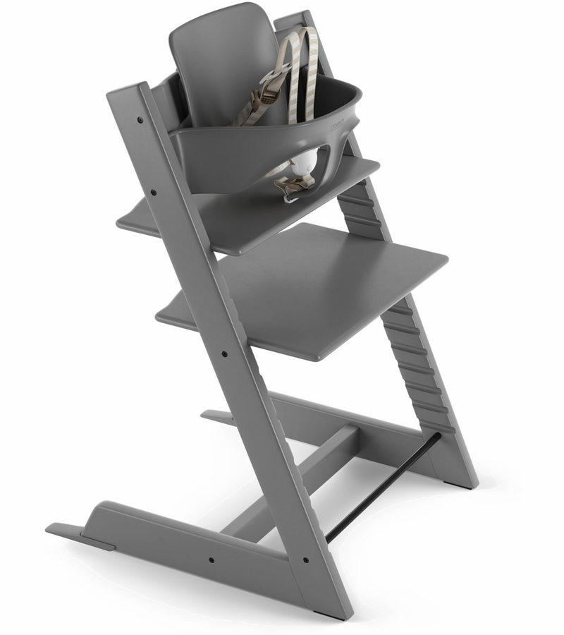 Stokke 2019 Tripp Trapp High Chair Storm Grey