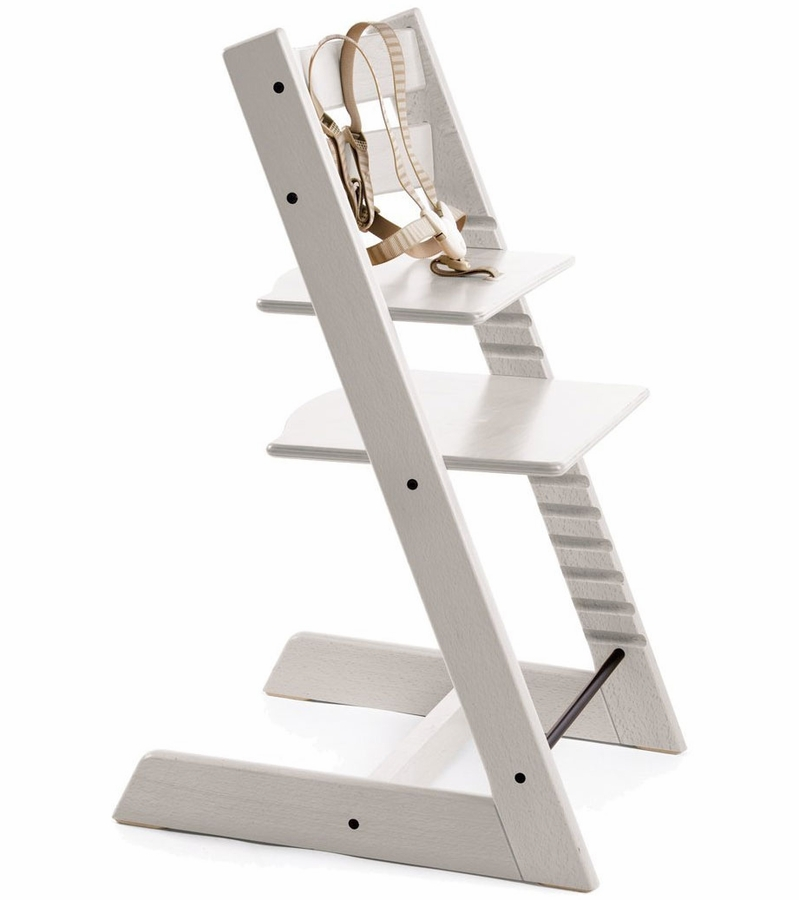 Stokke tripp trapp high chair 2018 white for Seggiolone stokke tripp trapp usato