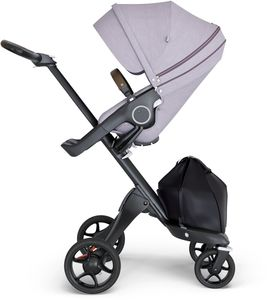 Stokke Xplory 6 Stroller - Brushed Lilac/Black/Brown