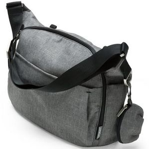 Stokke Changing Bag in Black Melange
