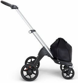 Stokke Xplory Chassis - Silver/Brown