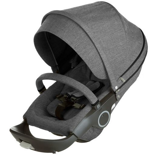 Stokke Seat in Black Melange