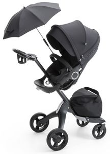 Stokke Xplory Stroller - True Black (Limited Edition)
