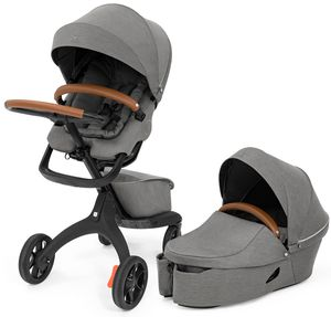 Stokke Xplory X Stroller + Carry Cot Bundle - Modern Grey
