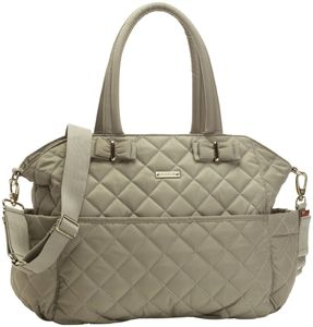 Storksak Bobby Quilted Diaper Bag - Cappuccino