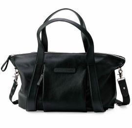 Storksak + Bugaboo Leather Diaper Bag