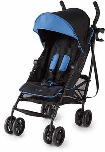 Summer Infant 3D Lite Plus Stroller - Blue/Matte Black