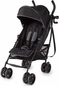 Summer Infant 3D Lite Plus Stroller - Matte Black