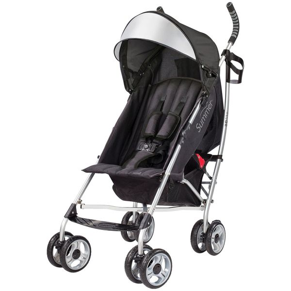 Summer Infant 3D Lite Stroller in Black