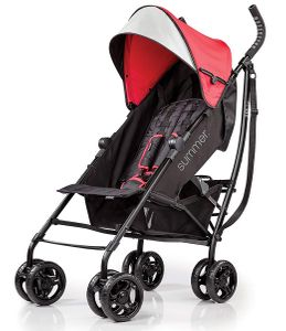 Summer Infant 3D Lite Stroller - Red