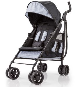 Summer Infant 3D Tote Stroller - Black/Gray