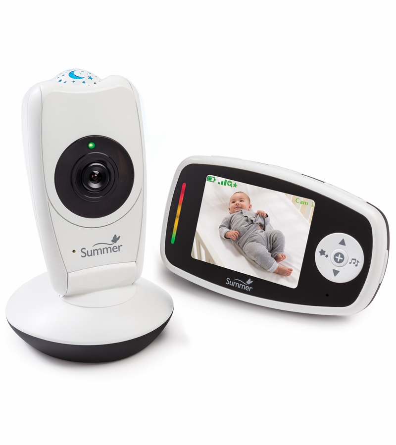 Summer Infant Baby Glow Video Monitor Amp Projection Camera