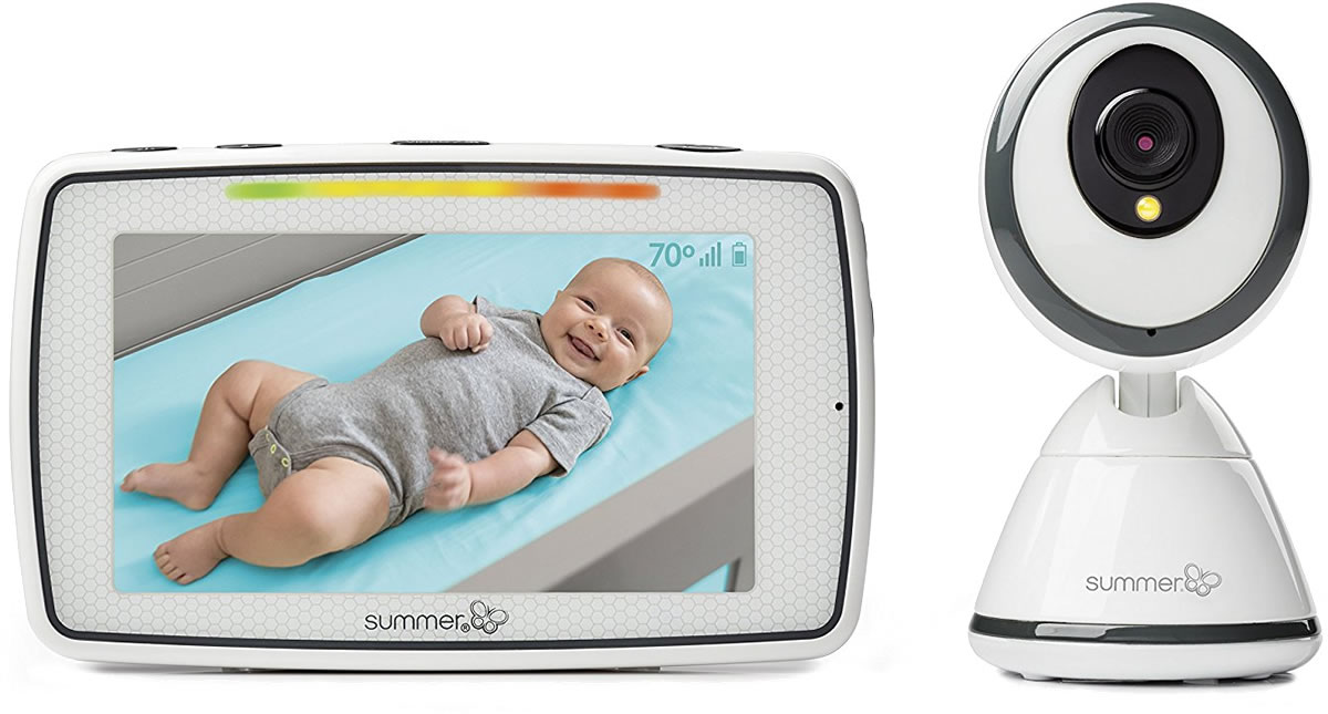 """Summer Infant Products Baby Pixel 5"""" Touchscreen Color Vi..."""