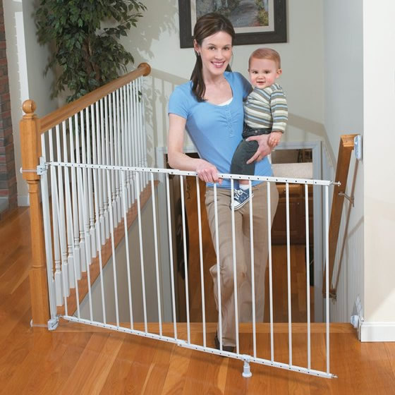 Summer Infant Sure Amp Secure Extra Tall Top Of Stairs Gate