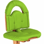 Svan Cushion in Lime