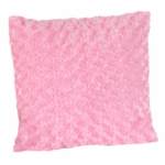 Sweet JoJo Designs Madison Pink Minky Swirl Decorative Throw Pillow