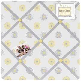 Sweet JoJo Designs Mod Garden Fabric Memo Board