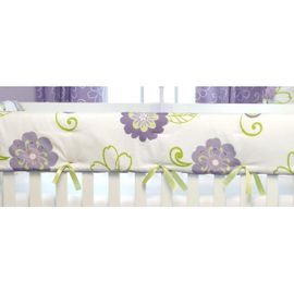 Sweet Potato LuLu Convertible Crib Rail Protector - Short Set
