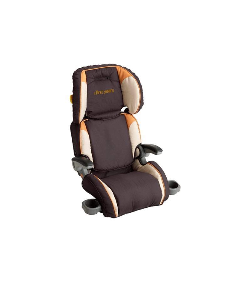 The First Years B530 Folding Booster Car Seat In Amber