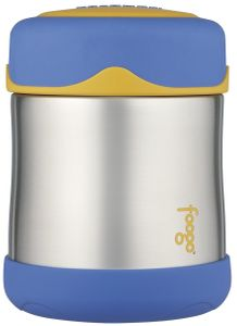 Thermos Foogo Leak-Proof Stainless Steel Food Jar - 10 Ounce - Blue