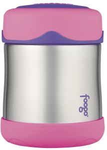 Thermos Foogo Leak-Proof Stainless Steel Food Jar - 10 Ounce - Pink