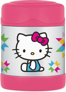Thermos Funtainer Leak-Proof Stainless Steel Food Jar - 10 Ounce - Hello Kitty