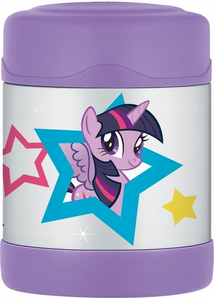 Thermos Funtainer Leak-Proof Stainless Steel Food Jar - 10 Ounce - My Little Pony