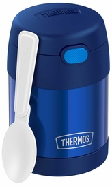 Thermos FUNtainer Stainless Steel Food Jar, 10oz - Navy
