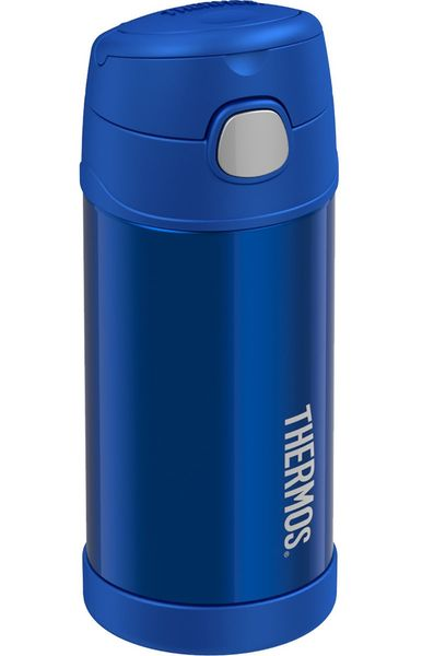 Thermos FUNtainer Vacuum Insulated Stainless Steel Bottle 12oz - Blue