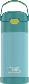 Thermos FUNtainer Vacuum Insulated Stainless Steel Bottle 12oz - Blue / Green