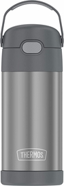 Thermos FUNtainer Vacuum Insulated Stainless Steel Bottle 12oz - Grey