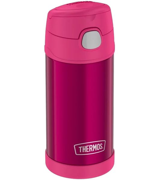 Thermos FUNtainer Vacuum Insulated Stainless Steel Bottle 12oz - Pink