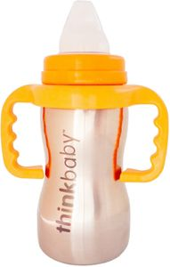 Thinkbaby Sippy of Steel 9 oz Sippy Cup