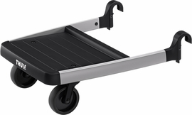 Thule Sleek Glider Board - Black/Silver