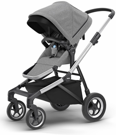 Thule Sleek Stroller - Grey Melange