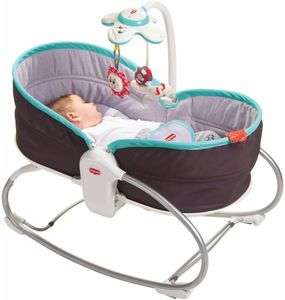 Tiny Love 3 in 1 Rocker Napper - Grey/Turquoise