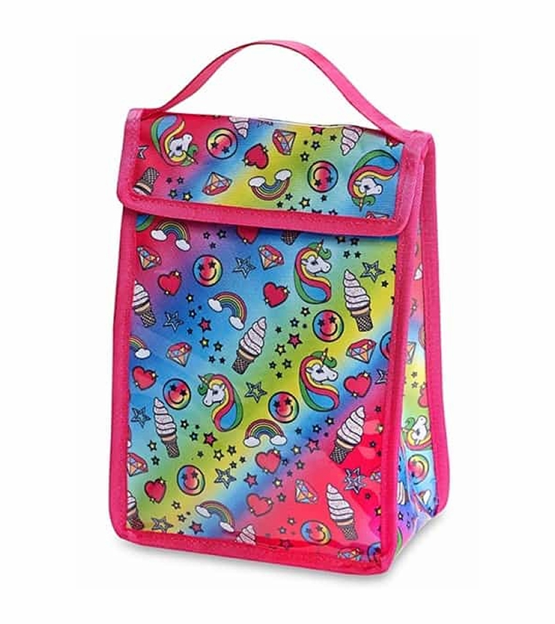 Top Trenz Insulated Snack Bag Unicorn Fantasy