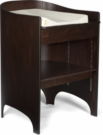Tulip Leander Changing Table & Pad - Walnut