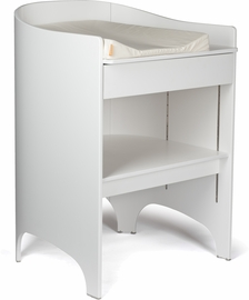 Tulip Leander Changing Table & Pad - White