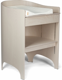 Tulip Leander Changing Table & Pad - White Wash